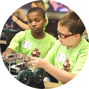 Develops the next generation of science, technology, engineering, and mathematics (STEM) professionals