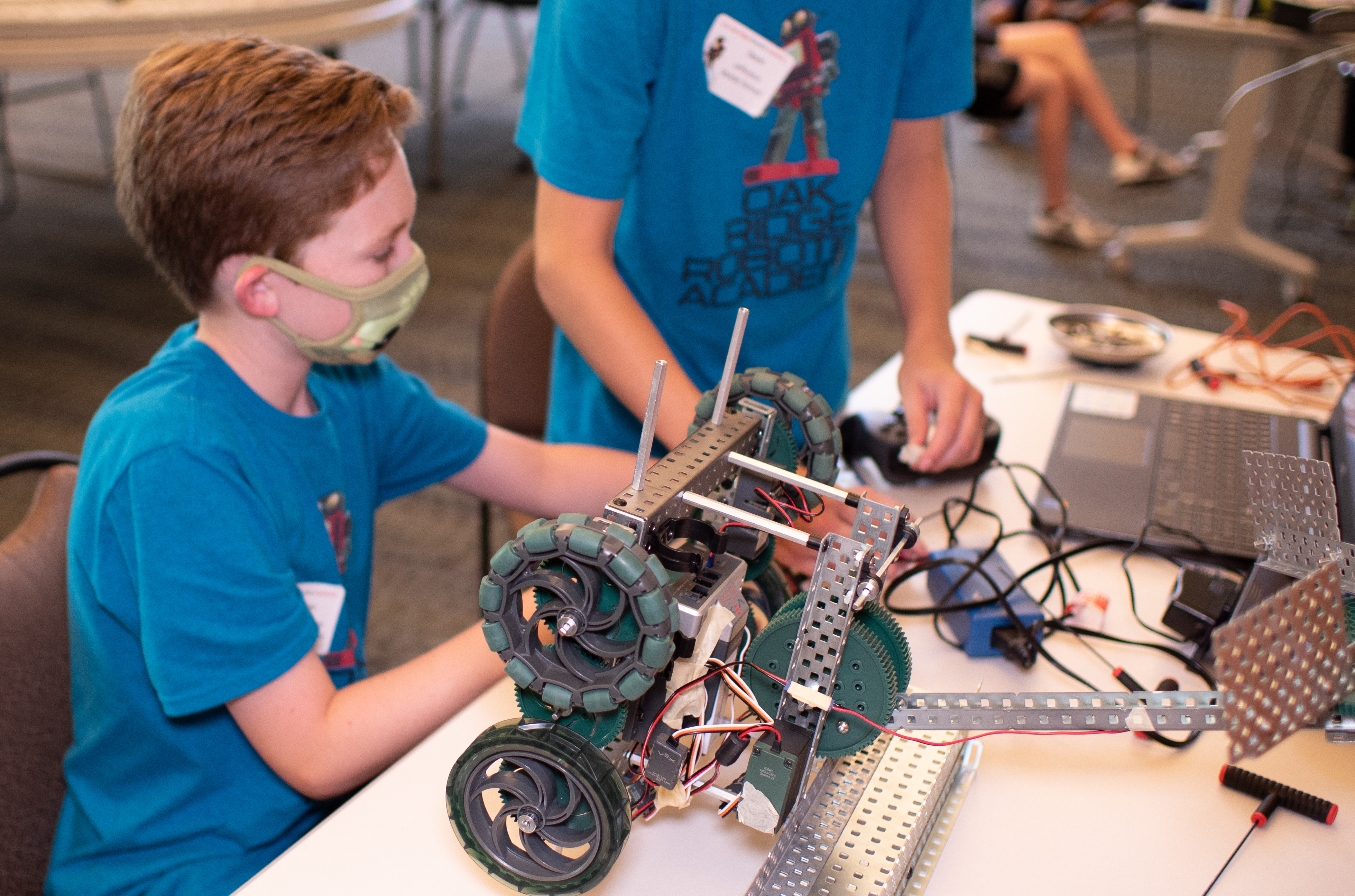 Oak Ridge Robotics Academy prioritizes STEM outreach and student safety