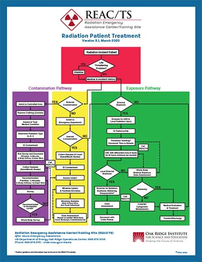 REAC/TS Radiation Patient Treatment Poster