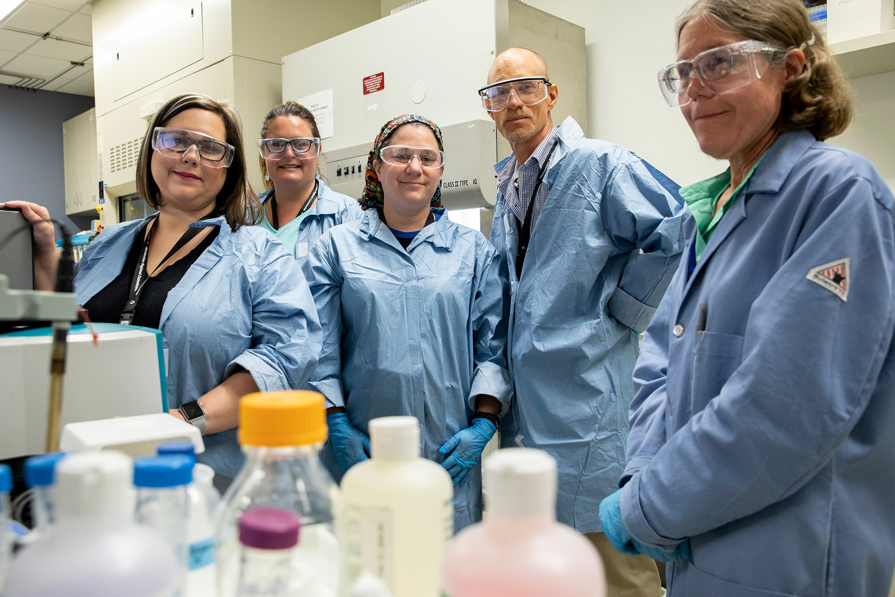 Four educators perform scientific research during summer program at Oak Ridge National Laboratory